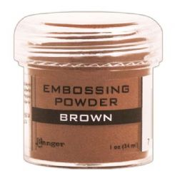 Ranger - Opaque/Shiny Embossing Powder - Brown